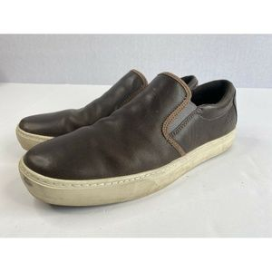 Timberland Men's Sz 12 Brown Leather Comfort Shoes